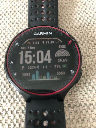 Reloj Garmin GPS Forerunner 235, escucho ofertas