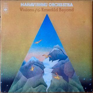 "MAHAVISHNU ORCHESTRA ""VISIONS OF THE EMERALD.."" LP"