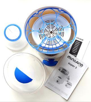 calienta biberones esterilizador miniland