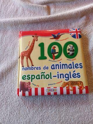 100 nombres de animales español - ingles
