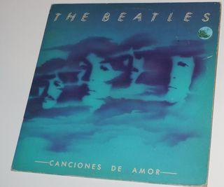 """Vinilo The Beatles """"Canciones de amor"""""""