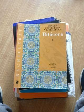 Libro de Bachillerato Lengua Castellana