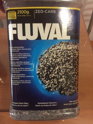Material filtrante acuario