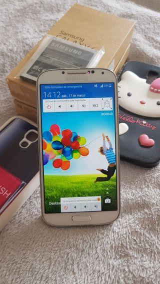 Samsung galaxy S4 blanco 16gigas factura