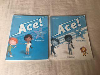 Libros de inglés Oxford Ace 2
