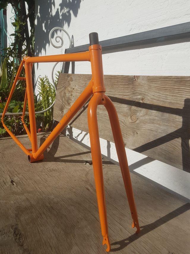 Cuadro bicicleta Fixie o Fixed Gear