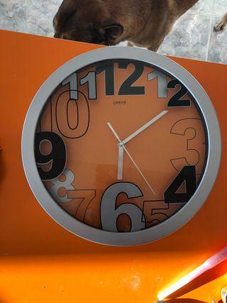 Reloj pared de cocina