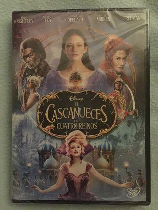 Película en dvd el cascanueces y los cuatro reinos