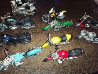 motos de colección maisto