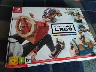 Switch Nintendo Labo-Toy-Con(03) Kit de vehículos