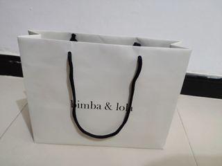 bolsa de regalo mediano bimba y lola original