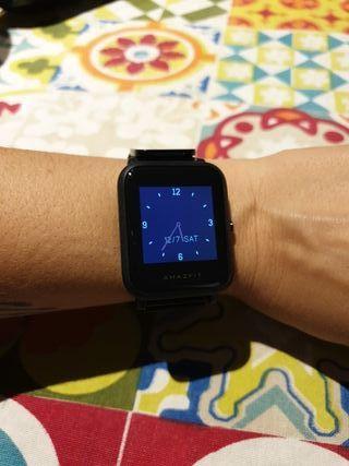 Xiaomi Amazfit Bip Lite SmartWatch, correa metal