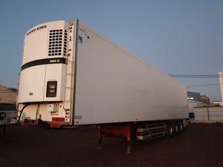 frigo tráiler camión