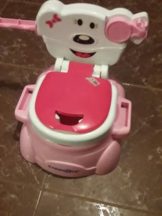 WC baño lavabo bater para bebés