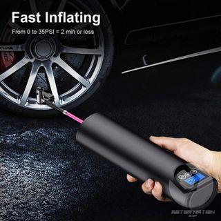 Inflador de neumaticos portatil para coche