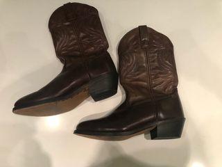 Botas cowboy hombre cuero T. 42,5
