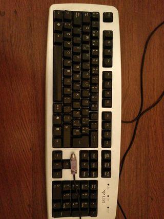 Teclado ordenador PS2