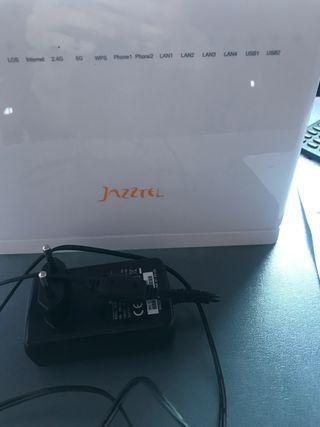 Router Jazztel. Pero vale para cualquier compañia