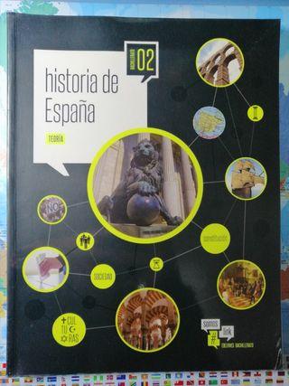 Libros de Historia de España 2° Bachillerato