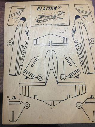 Maquetas para recortar de madera