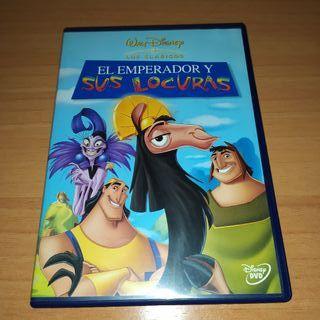 El emperador y sus locuras DVD