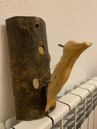 Timbre decorativo manual