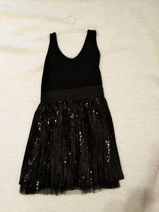 vestido de fiesta zara talla M