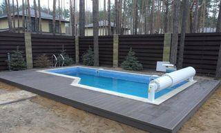 Montador cubiertas elevadas piscina