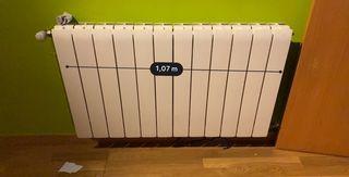 Calefacción radiadores de agua