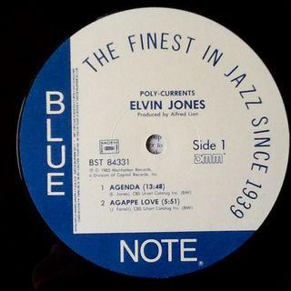 "ELVIN JONES ""POLY-CURRENTS"" LP"