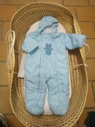 chaquetón buzo bebé abrigo