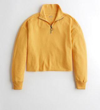 Camiseta Hollister Cremallera