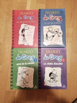 Libros El Diario de Greg