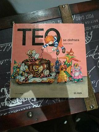 Libro infantil TEO se disfraza