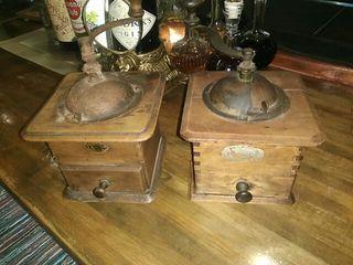 molinillos de café vintage
