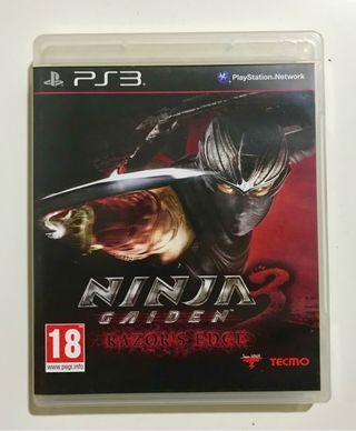 Ninja Gaiden 3 Razor's Edge - Ps3