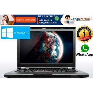 Portátil Lenovo T430, i5 / Cam / 500Gb / Windows 1