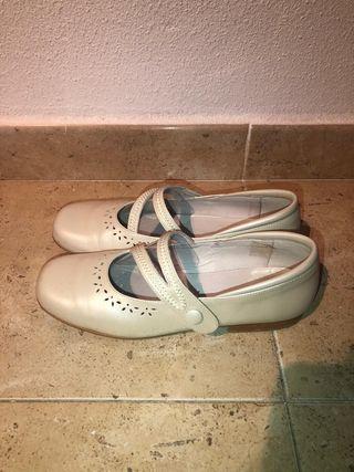 Zapatos de comunión de niña