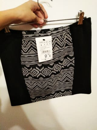 falda nueva talla S (36/38)
