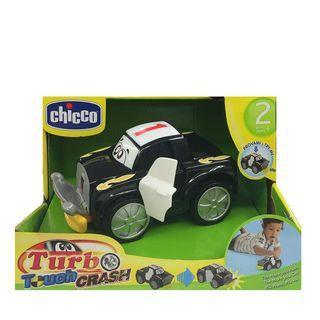 Chicco - Coche Turbo Touch Crash Derby, Color Negr