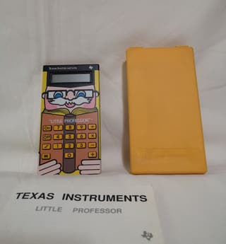Calculadora LITTLE PROFESSOR. Texas Instruments