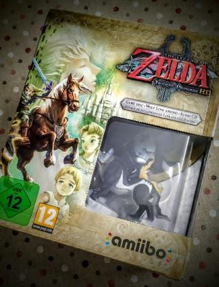 Zelda Twilight Princess - Wii U - Amiibo Link Lobo