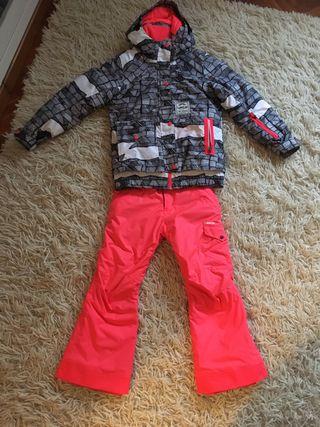 Pantalon chaqueta esqui / ski / snow Niña
