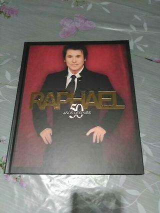 libro Raphael 50 años CD y DVD