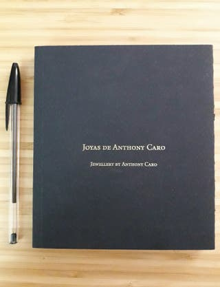 Joyas de Anthony Caro. Libro