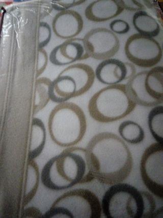 sabana de franela de cama de 105