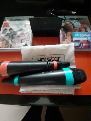 micrófonos inalámbricos PS3