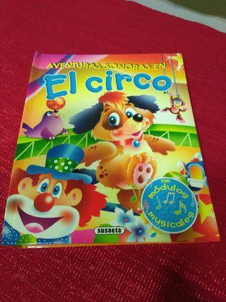 Libro infantil con sonido