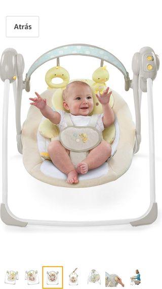Hamaca Columpio Bebe ,peluche de regalo