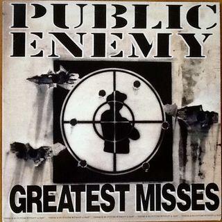 """PUBLIC ENEMY """"GREATEST MISSES"""" LPx2"""